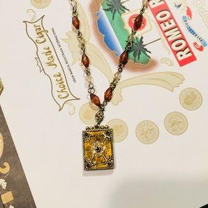 Vintage Lc Necklace